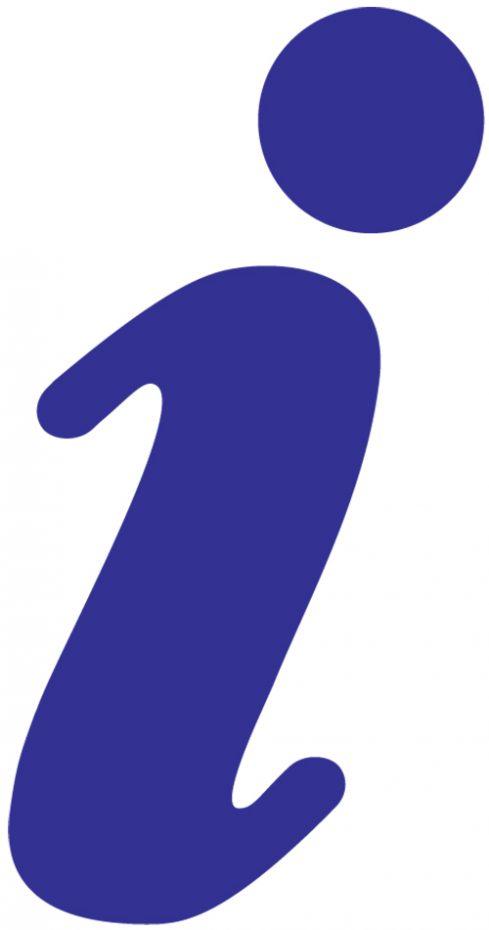 Information 'i' icon