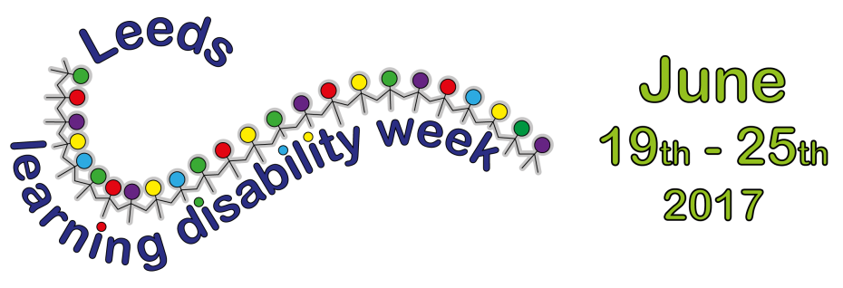 Leeds Learning Disability Week 2017 logo
