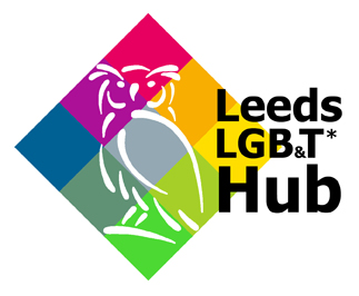 Leeds LGBT hub Logo
