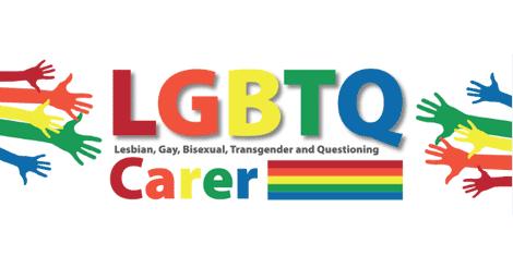 Carers Leeds LGBTQ Logo