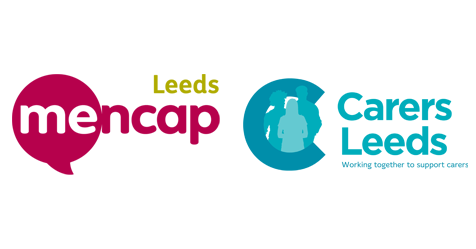 Leeds Mencap and Carers Leeds logos
