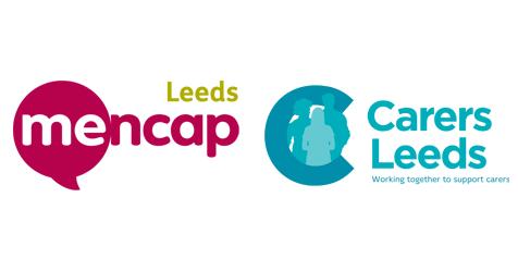 Leeds Mencap and Carers Leeds logos