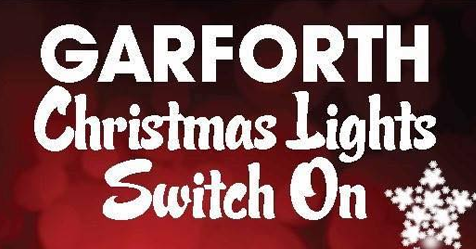 Poster for Garforth Festive Lights Switch On 2018