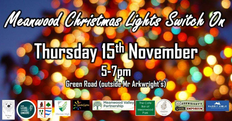 Poster for Meanwood Festive Lights Switch On 2018